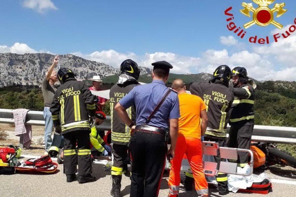 I soccorsi (Foto Vigili del fuoco)
