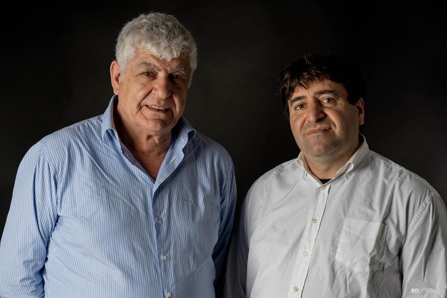 Roberto Tempesta e Gilberto Martinelli (foto Anna Nagy)