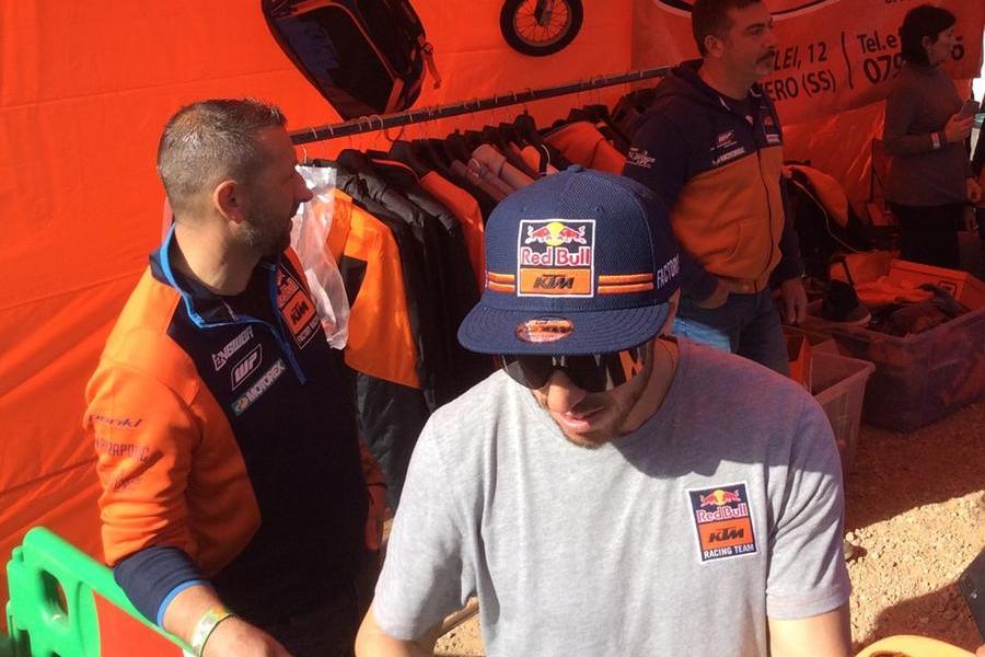 Mondiali di motocross a Riola Sardo:TonyCairoli out per una caduta