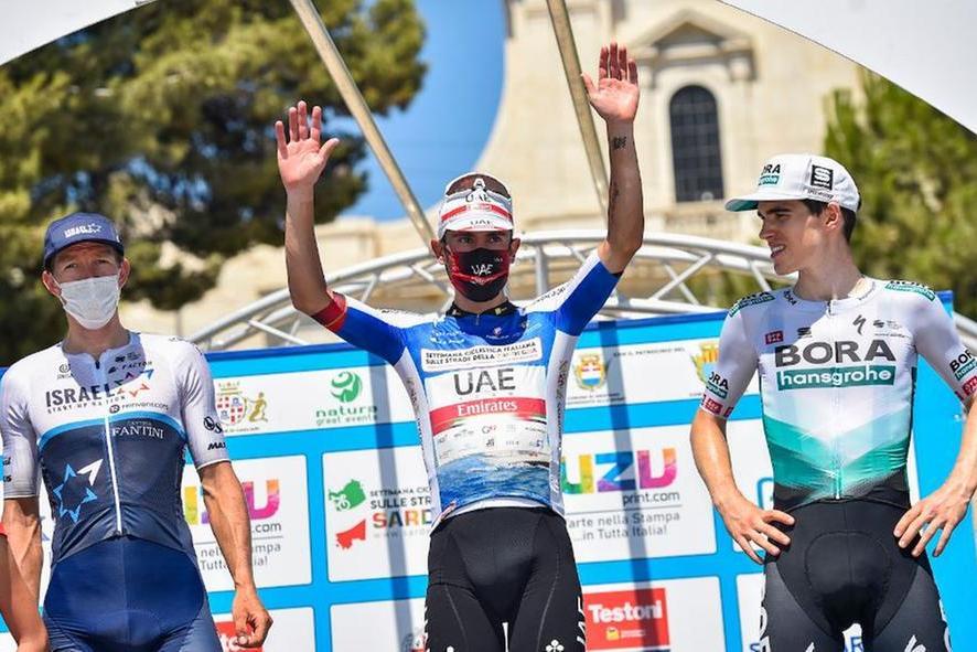 Settimana ciclistica in Sardegna: trionfa Diego Ulissi