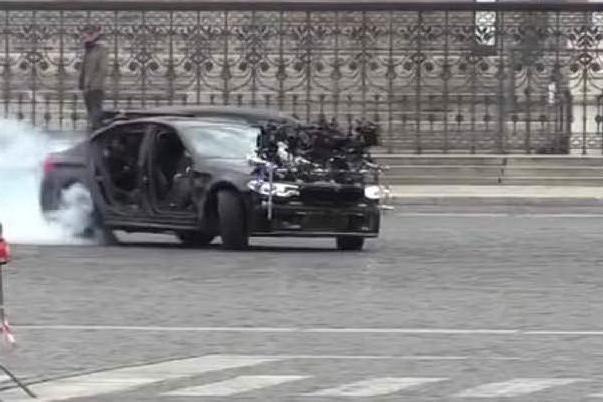 Scene mozzafiato a Piazza Venezia per le riprese di Mission Impossible