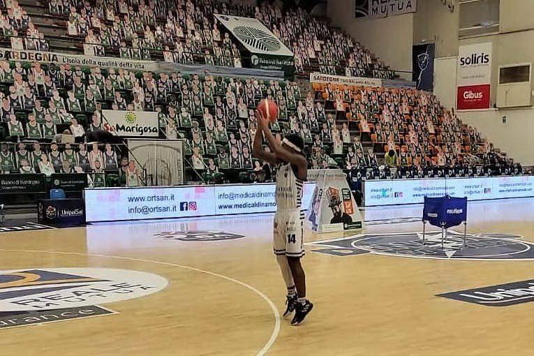 Dinamo fiduciosa per il recupero di Bendzius o Treier per la gara casalinga contro Trento