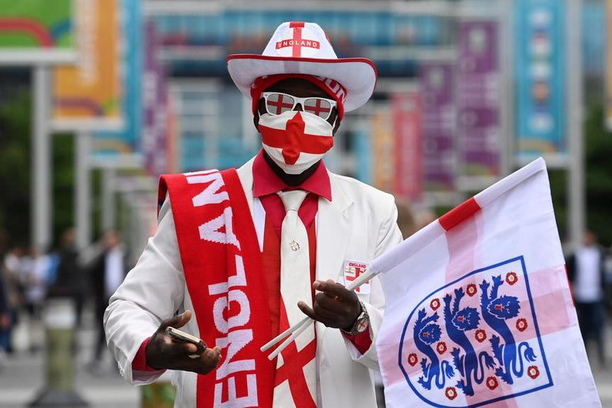 Wembley, sfida per la finale: Inghilterra batte la Danimarca per 2 a 1