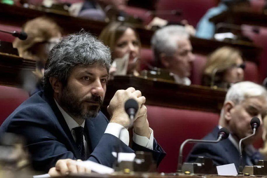 Il presidente della Camera Roberto Fico (Ansa)