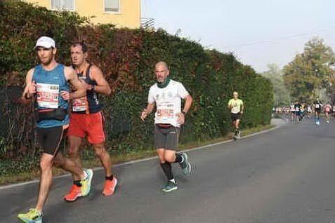 Al Poetto la maratona di Venezia