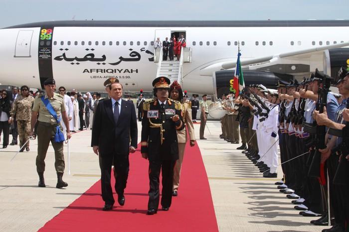 Torna dall'esilio la reggia volante di Gheddafi