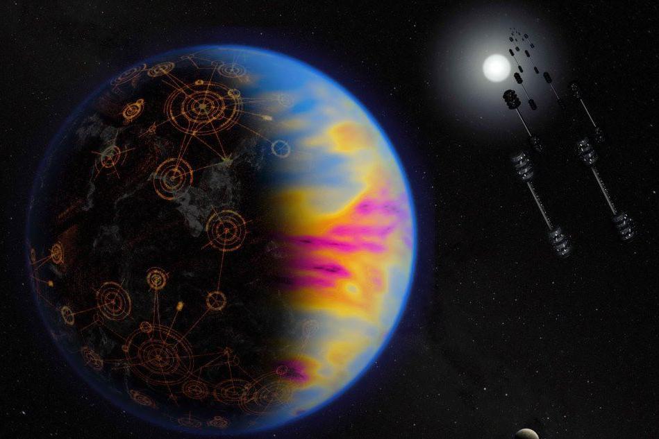 Scoprire una civiltà extraterrestre? Cerchiamo le tracce del suo inquinamento