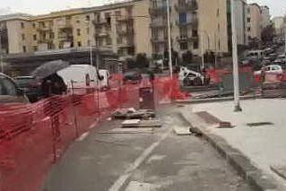 Lavori bloccati, disagi a Sant'Avendrace