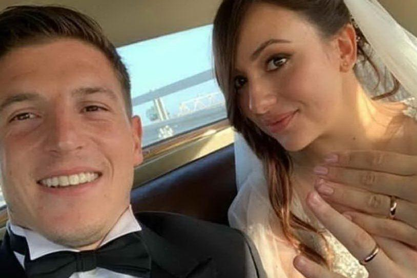 Cragno ha detto sì: nozze a Cagliari con la sua Silvia