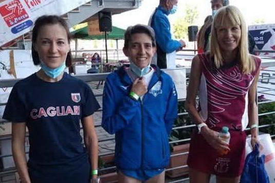 Argento ai campionati italiani di pista per Donatella Saiu