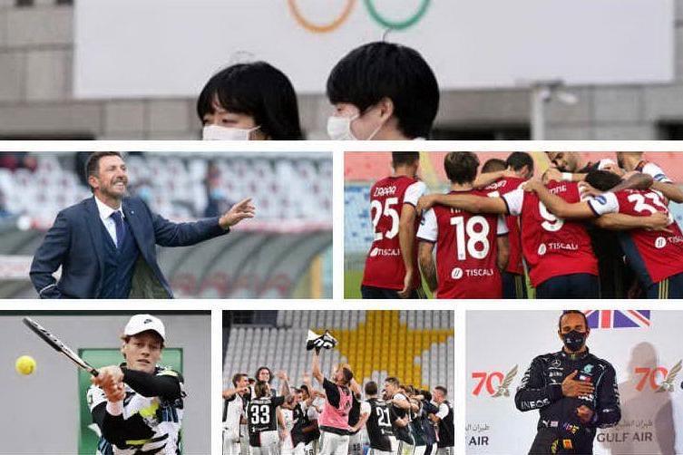 Lo sport nel 2020, un anno di notizie attraverso le immagini