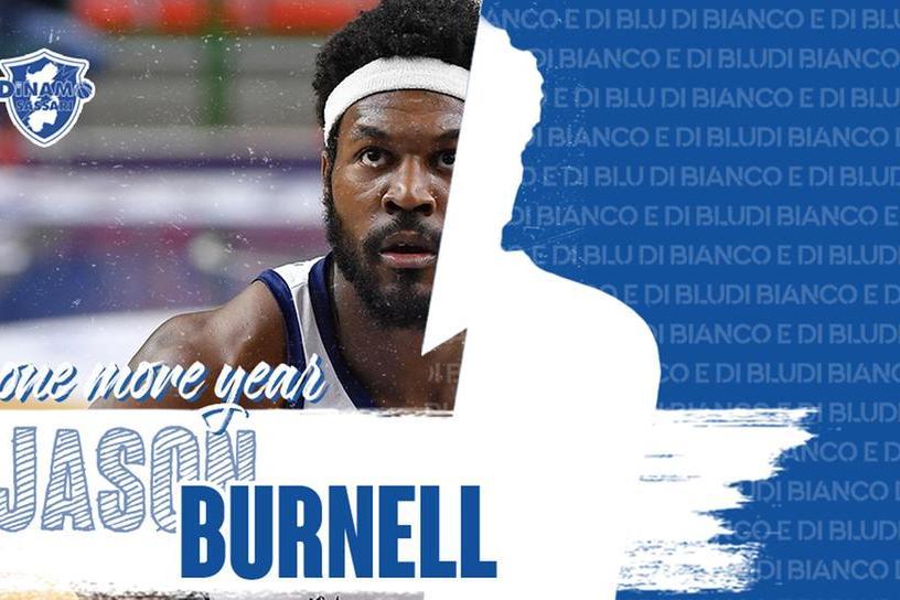 Jason Burnell (foto ufficio stampa Dinamo)