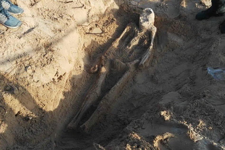 Lo scheletro (Foto Ivan Murgana)