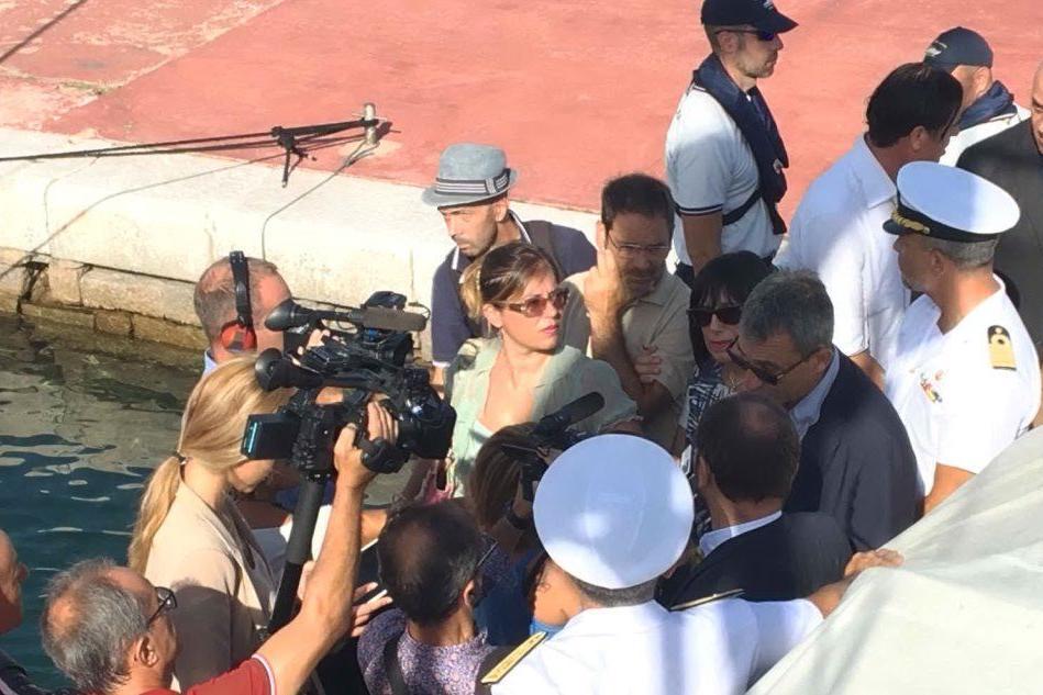 Il ministro Costa sbarca a La Maddalena