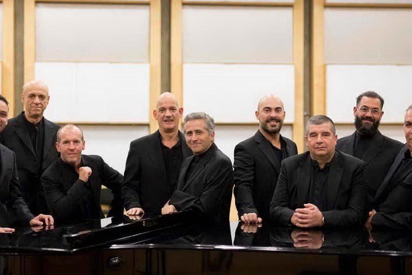 L'Ottetto vocale del Teatro Lirico di Cagliari