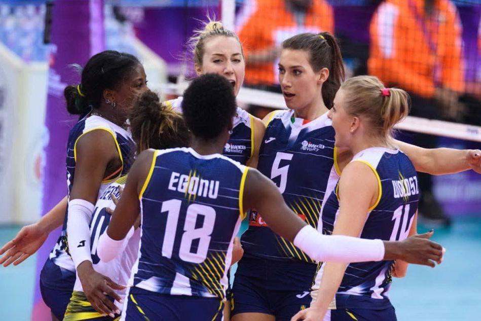 Pallavolo femminile: Conegliano vince il mondiale per club