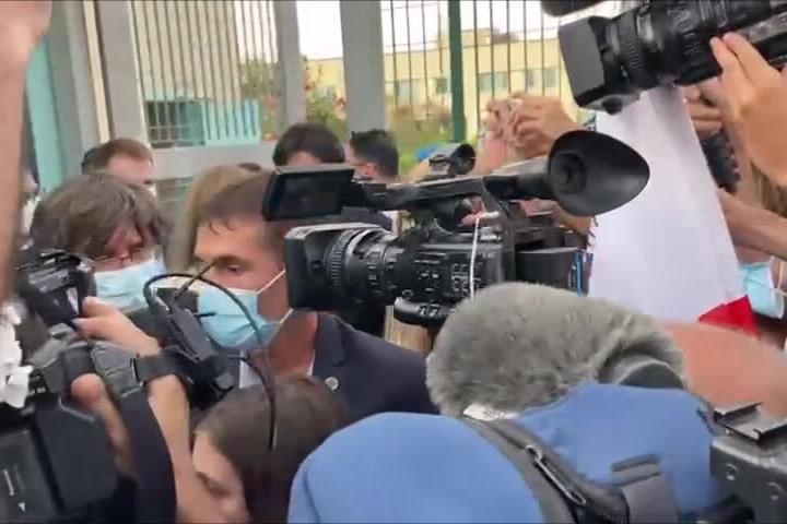 Sassari, Puigdemont esce dal carcere di Bancali