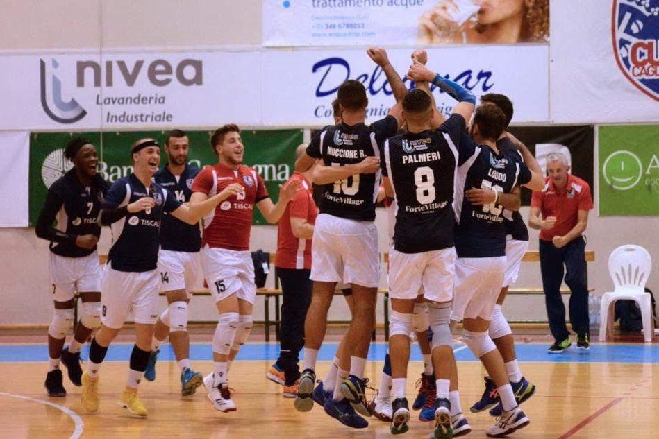 Il Cus Cagliari vince il derby di B maschile col Garibaldi