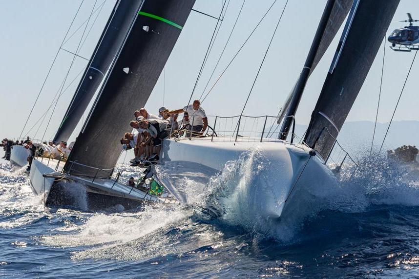 Porto Cervo, al via laMaxi Yacht Rolex Cup