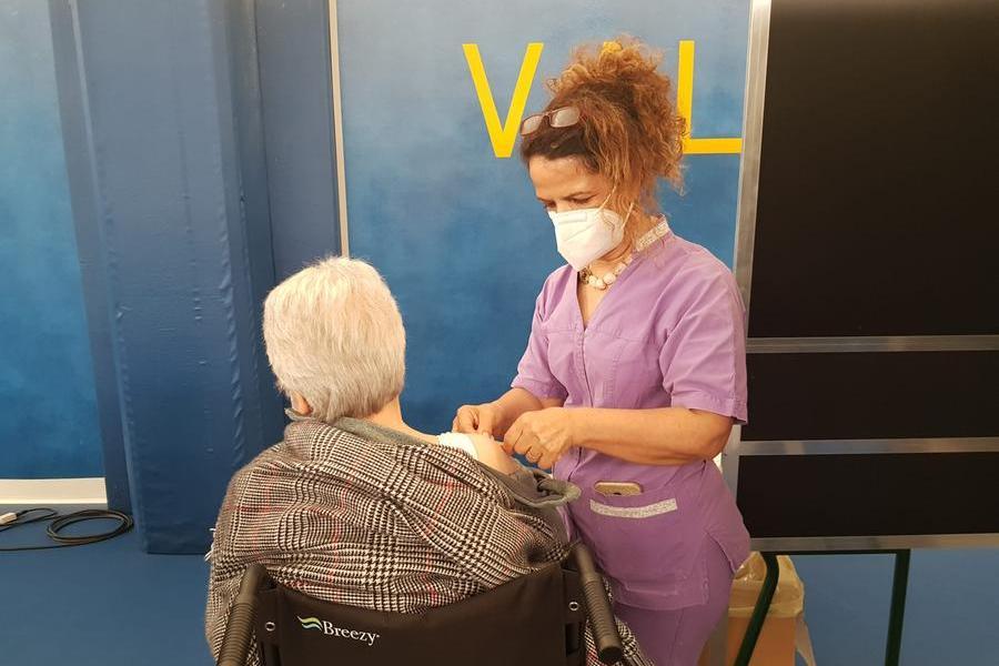 All'hub di Vallermosa in campo i volontari di Ad Adiuvandum