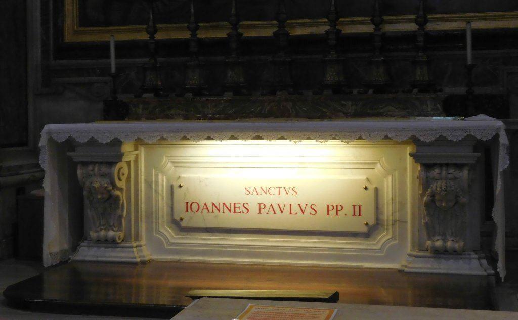 La tomba del Pontefice (foto Wikipedia)