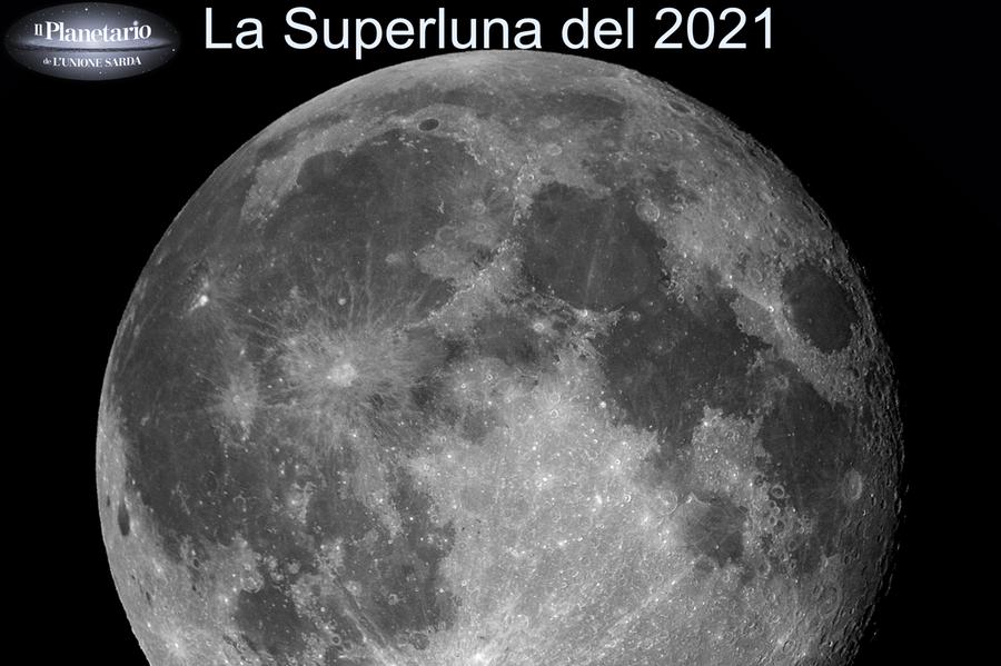 In arrivo la Superluna di aprile: la diretta streaming con ilPlanetario de L'Unione Sarda
