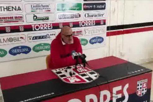 Il tecnico della Torres Graziani commenta la sconfitta col Latina per 3-1