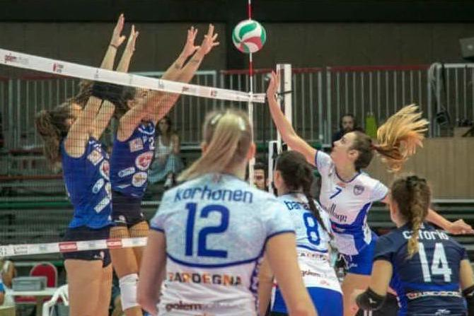 Hermaea sprecona al debutto: a Olbia la Sigel Marsala si impone al tie-break