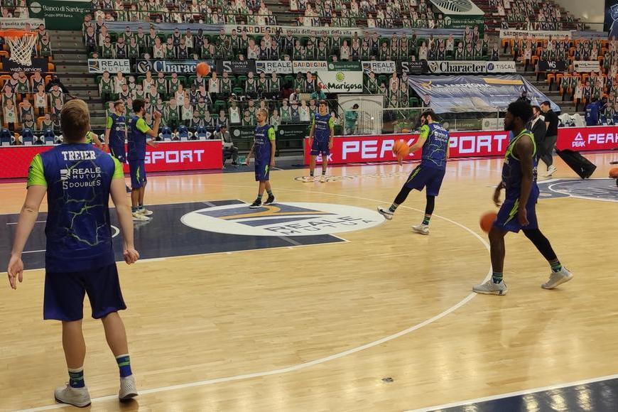Basket,colpaccio della Dinamo a Treviso: 71-64