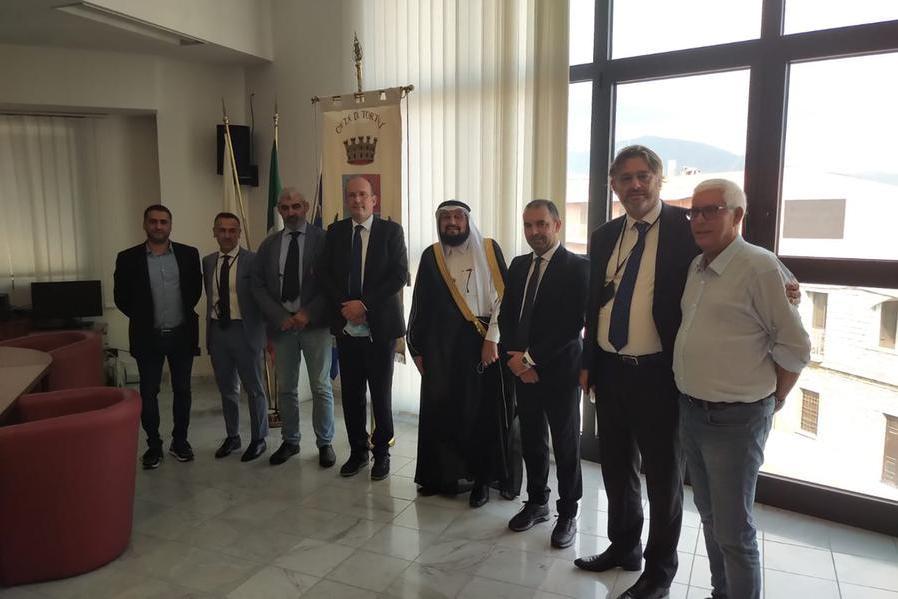 Tortolì, incontri istituzionali con il rappresentante della Lega Musulmana