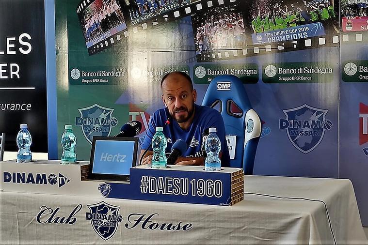 """Dinamo-Brindisi nei quarti, coach Cavina: """"Loro grandi qualità in attacco, ma anche noi"""""""
