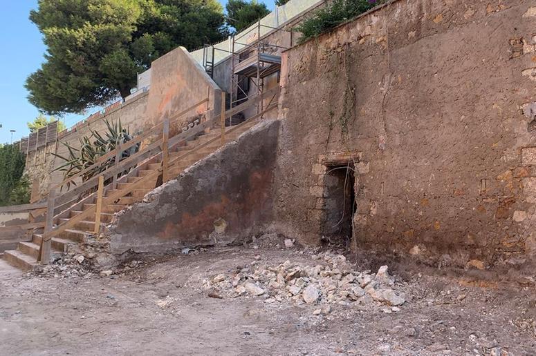 A Cagliaririaffioraun vecchio rifugio di guerra