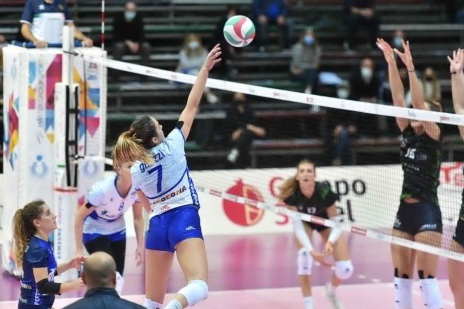 Volley, l'Hermaea non vince più: a Sassuolo Olbia cede 3-0