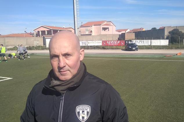 Cantara, allenatore della Nuorese (foto Serreli)