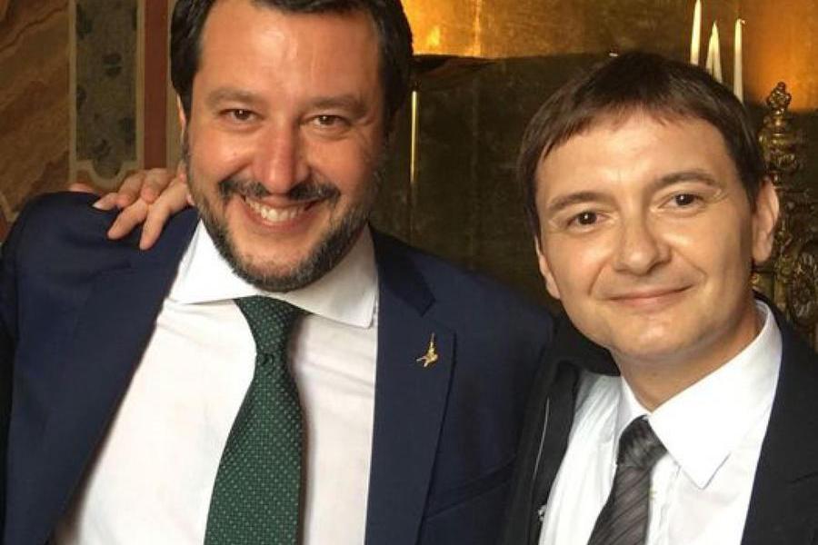 """Salvini: """"Caso Morisi?Una schifezza mediatica"""""""