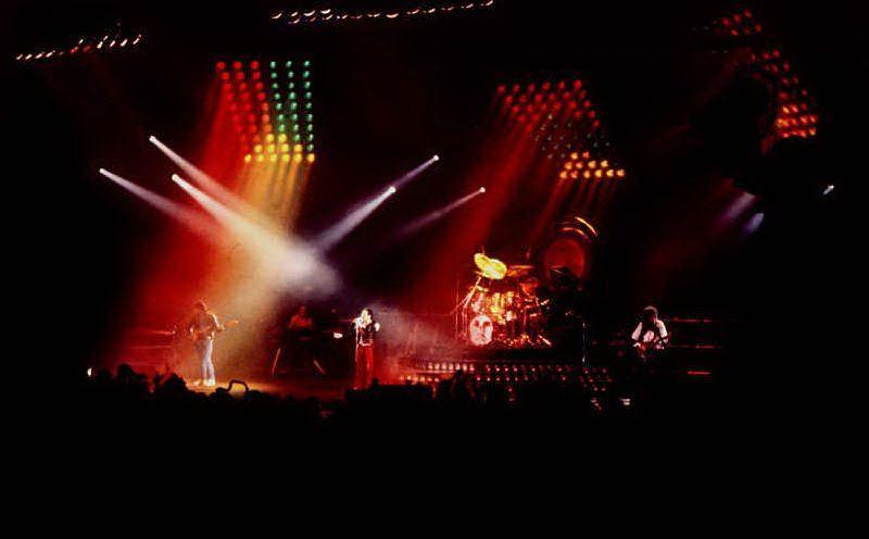 Un concerto dei Queen in Norvegia