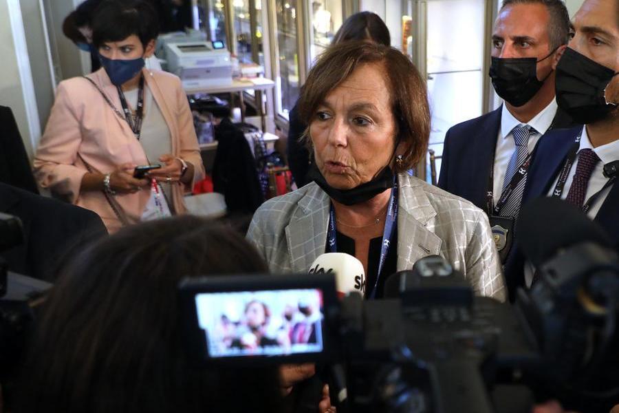 Il ministro dell'Interno Luciana Lamorgese (Ansa - Bazzi)