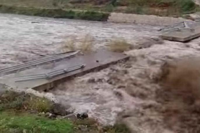 Il rio Sologo a Galtellì (foto Carcone)