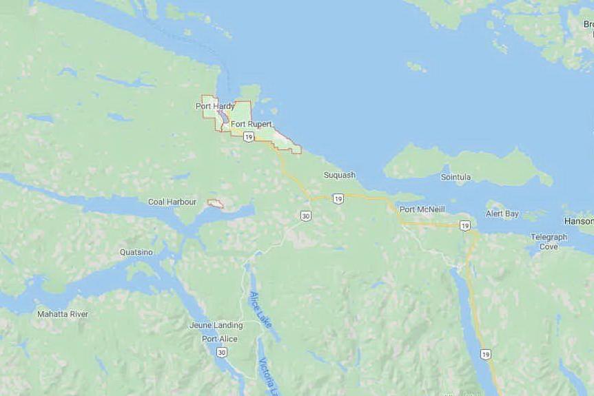 Nuova scossa di terremoto sulla costa ovest davanti a Port Hardy
