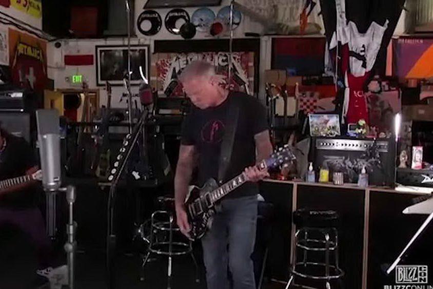 Twitch censura i Metallica: l'esibizione diventa comica