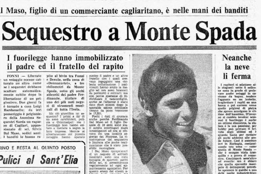 #AccaddeOggi: 8 marzo, 40 anni fa il sequestro di Silvio Dal Maso