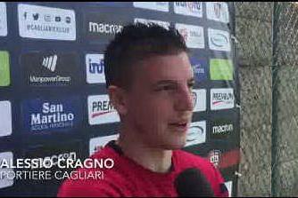 """Cragno si riprende il Cagliari: """"Darò tutto me stesso per meritare il posto""""."""