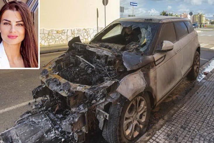 A fuoco l'auto di Serena Enardu, identificato il responsabile a Quartu