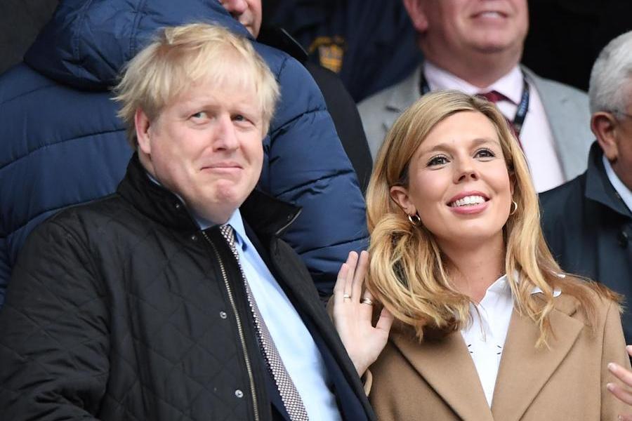 """""""Nozze in segretotra Boris Johnson e la compagna"""""""