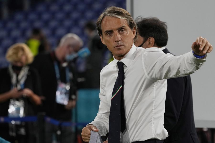 """Mancini: """"Con la Svizzera sale il livello"""". In caso di vittoria azzurri agli ottavi"""