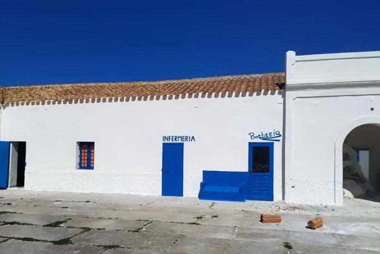 Asinara, terminato il restyling nell'ex carcere di Cala d'Oliva