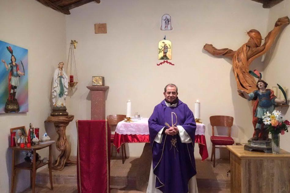 Talana, addio a don Pirarba: il parroco stroncato dal Covid