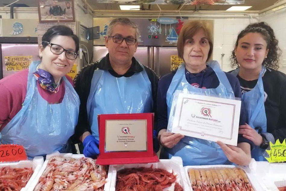 Una pescheria quartese tra le Eccellenze d'Italia