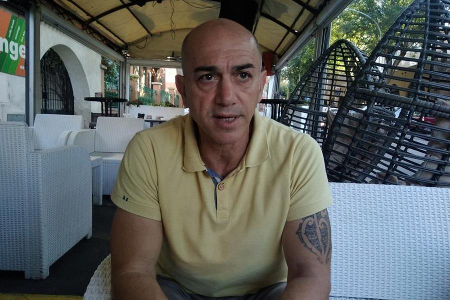 Il nuovo manager generale dell'Amatori Alghero Luigi Troiani (foto Antonio Burruni)