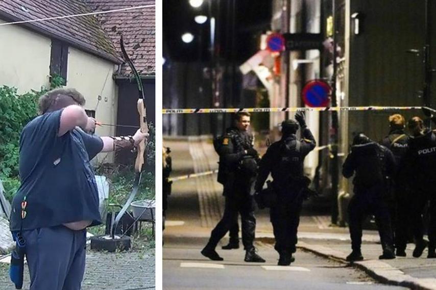 La Polizia sul posto e un frame del video su YouTube postato pochi giorni prima dall'uomo